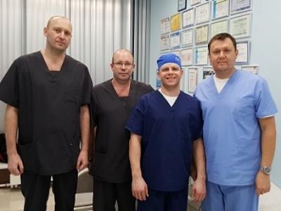 Мастер-класс для ведущих специалистов флебологов из Казани Малышева Константина и Киршина Андрея